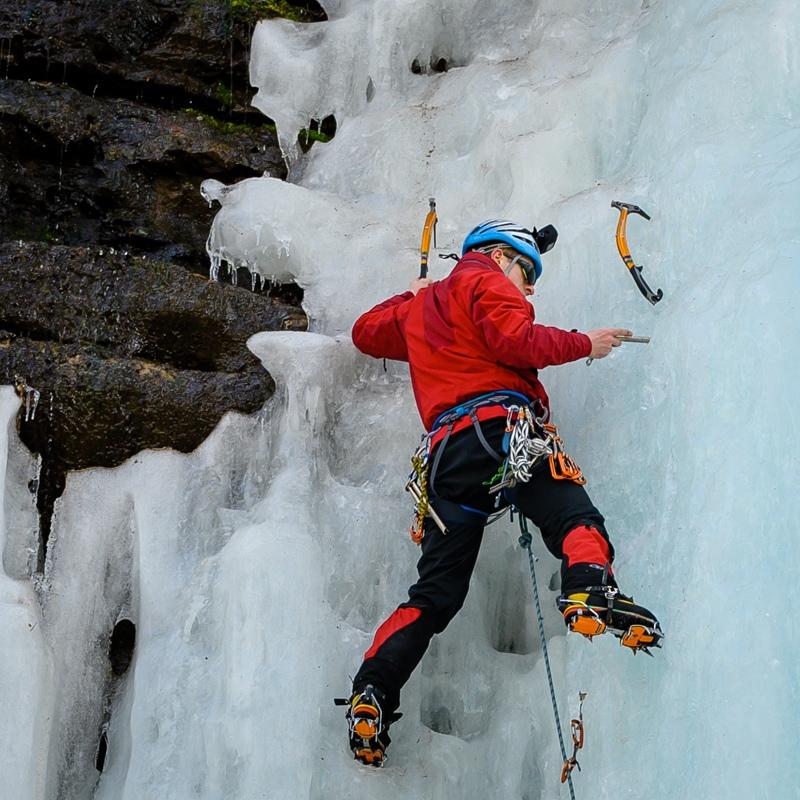 Jason leading ice